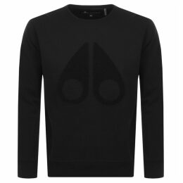 Moose Knuckles Logo Sweatshirt Black