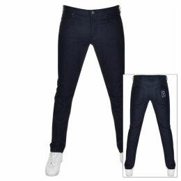 Emporio Armani J06 Slim Fit Jeans Navy
