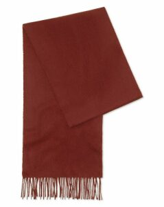 Burnt Orange Cashmere Scarf Size OSFA by Charles Tyrwhitt
