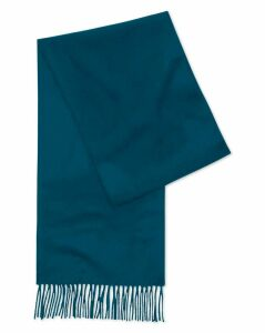 Teal Cashmere Scarf Size OSFA by Charles Tyrwhitt