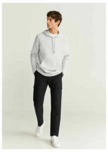Textured flecked sweatshirt