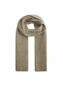 Neps knit scarf