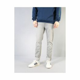 Route One Slim Denim Jeans - Washed Grey (28)
