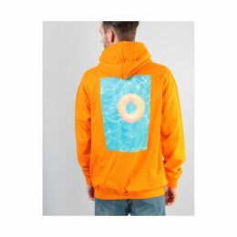 Route One Pool Party Pullover Hoodie - Orange (S)