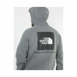 The North Face Raglan Red Box Pullover Hoodie - TNF Grey Heather (S)