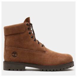 Timberland Premium 6 Inch Heritage Boot For Men In Brown Brown, Size 12.5