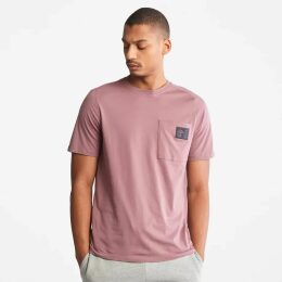 Timberland Oyster River Logo Hoodie For Men In Grey Grey, Size XXL