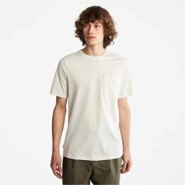Timberland Oyster River Logo Hoodie For Men In Navy Navy, Size XXL