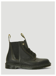 Yohji Yamamoto X Dr Martens Lace-Up Boots in Black size JPN - 06