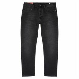 Acne Studios River Black Slim-leg Jeans
