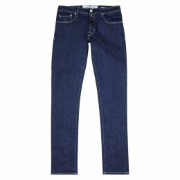 Jacob Cohën Dark Blue Skinny Jeans