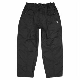 South2 West8 Black Shell Cargo Trousers
