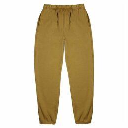 Les Tien Olive Cotton-jersey Sweatpants