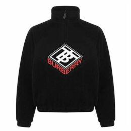 Burberry Fleece  quarter  Zip Top