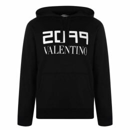 Valentino 2099 Logo Over The Head Hoodie