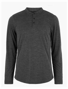 M&S Collection Active Long Sleeve Sweatshirt