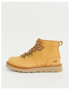 Caterpillar shaw leather hiker boot in tan