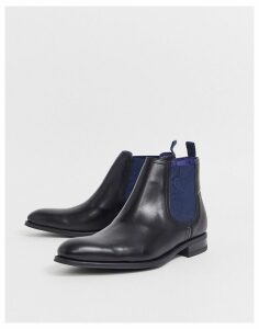 Ted Baker travic chelsea boots black leather