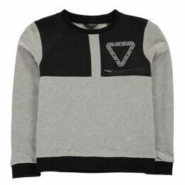 Guess Logo Zip Sweatshirt