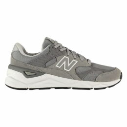 New Balance X 90 Leather and Mesh Trainers