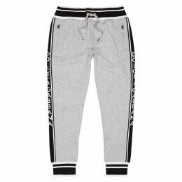 Dolce & Gabbana Grey Cotton-jersey Sweatpants