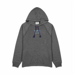 Acne Studios Fenton Grey Mélange Jersey Sweatshirt