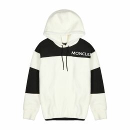 Moncler Grenoble Maglia Panelled Fleece Sweatshirt