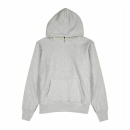 Les Tien Light Grey Cotton-jersey Sweatshirt