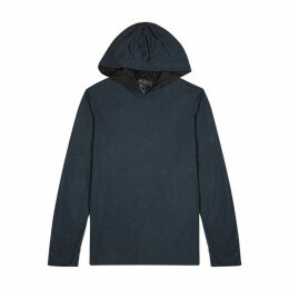 Rag & Bone Navy Reversible Jersey Sweatshirt