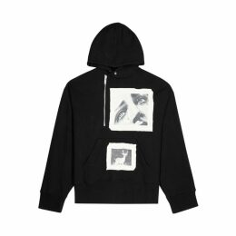 Palm Angels Black Cotton-jersey Sweatshirt
