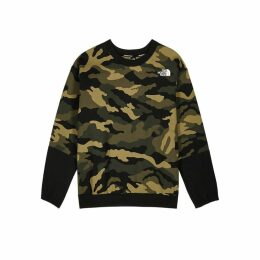 The North Face Camouflage-print Jersey Sweatshirt