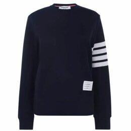 Thom Browne Striped 4 Bar Sweatshirt
