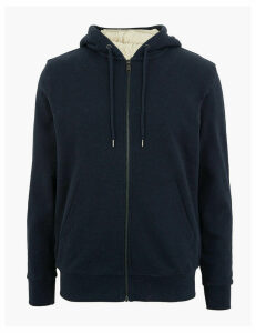 M&S Collection Pure Cotton Hoodie