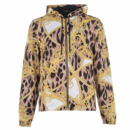 Versace Icon Barocco Lightweight Hooded Jacket