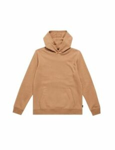 Mens Caramel Brown Overhead Hoodie, BROWN