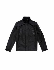 Mens Black Zip Through Jacket, Black