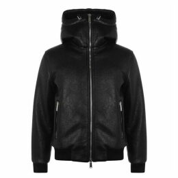 DSquared2 Shearling Hooded Jacket