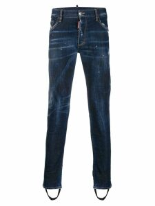 Dsquared2 Ski distressed jeans - Blue