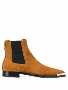 Givenchy metal tip Chelsea boots - Brown