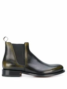 Santoni slip-on ankle boots - Black