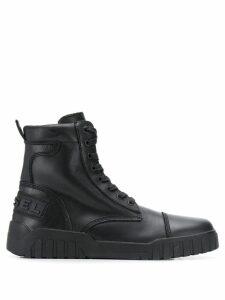 Diesel hybrid sneaker-boots - Black