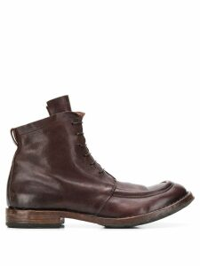 Moma Minsk boots - Brown
