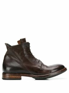 Moma Minsk ankle boots - Brown
