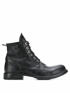 Moma lace-up ankle boots - Black