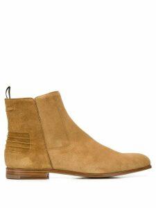 Car Shoe side zip ankle boots - Neutrals
