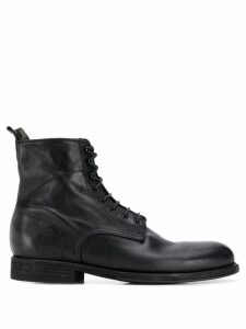 Pantanetti lace-up ankle boots - Black