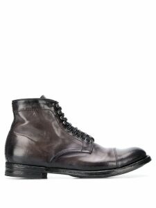 Officine Creative lace-up ankle boots - Grey