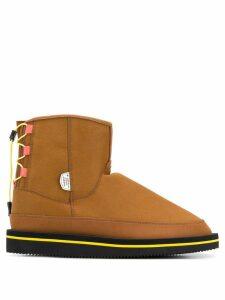 Suicoke flat snow boots - Brown