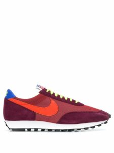Nike suede panel sneakers - Red