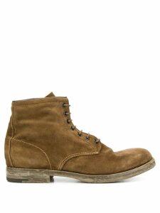 Premiata lace-up ankle boots - Neutrals